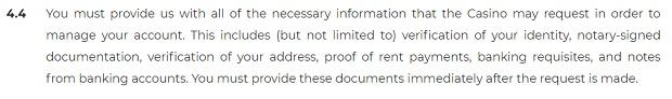 Okazanie dokumentów tożsamości