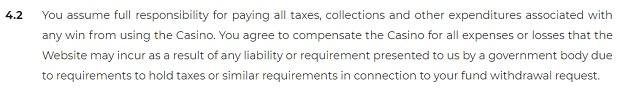 Odpowiedzialność podatkowa kasyno Cadoola