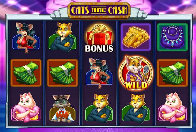 Gra Cats&Cash za darmo