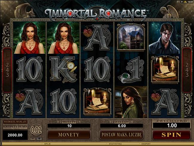 darmowa gra Immortal Romance