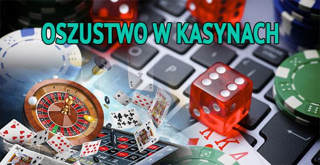oszustwo w kasynach internetowych