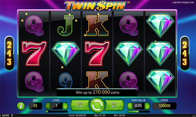 darmowa gra Twin Spin