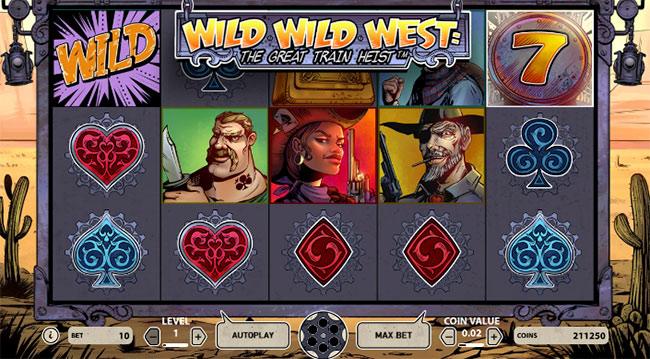 Wild Wild West - graj za darmo