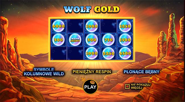 Wolf GOLD - graj za darmo