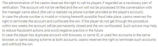 Działania przeciwdziałające oszustwom kasyno Betchan