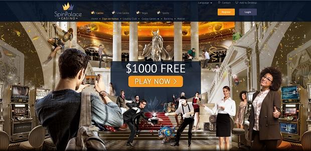 Spin Palace bonusy za depozyt