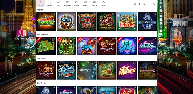 Spin Palace wersja online