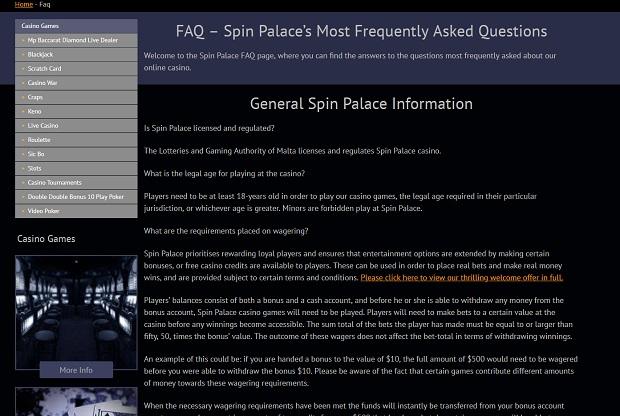 Licencja i podmiot regulujący Spin Palace