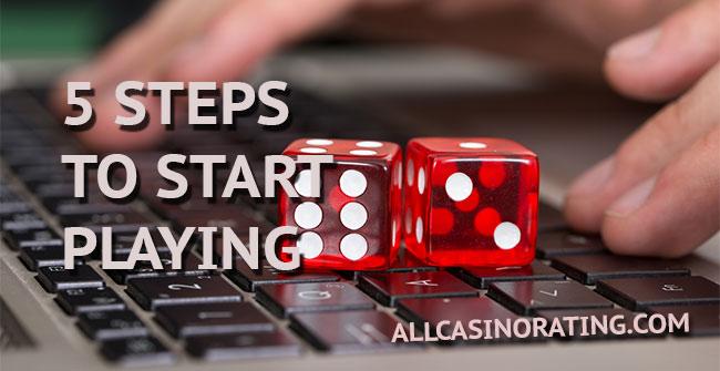Jak zacząć grę w kasynie online?