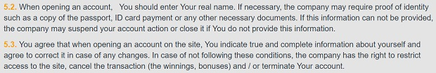 Umowa Użytkownika (regulamin)